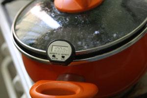 calentar los alimentos con una temperatura adecuada
